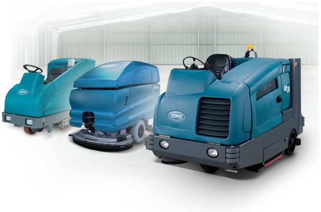 Tennant Floor Cleaning Machine Rentals